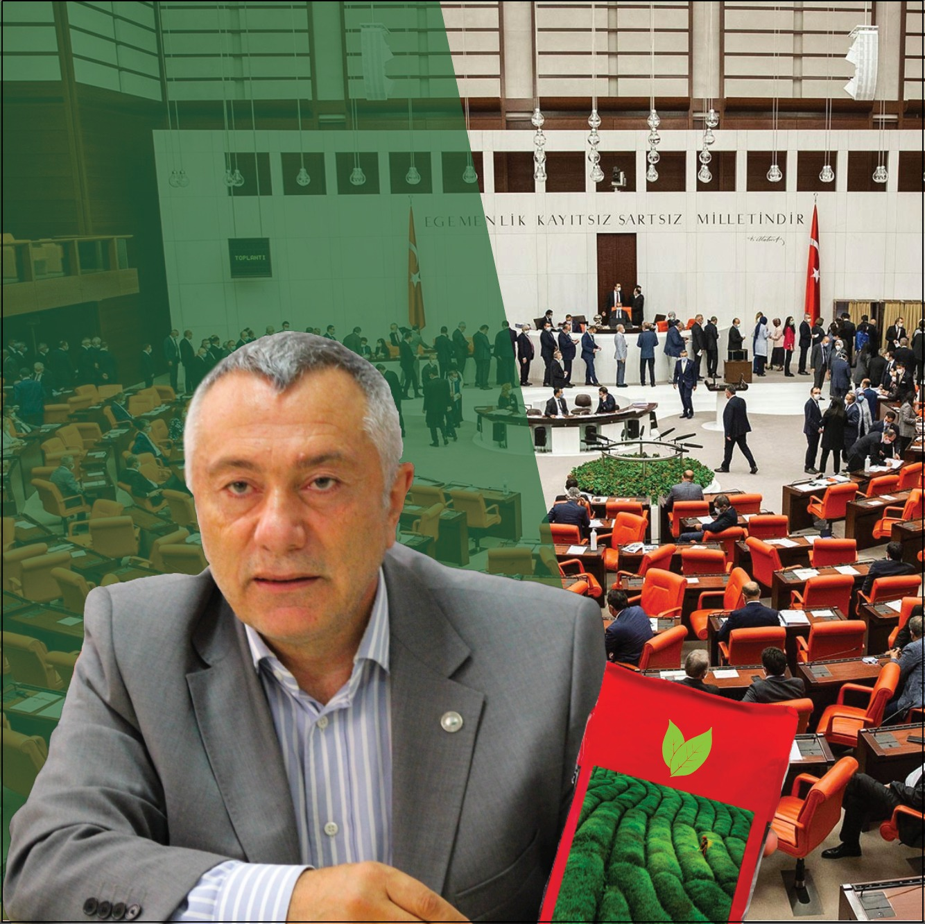 Rize'den aldığı kaçak çayı Meclis'e sokacak!