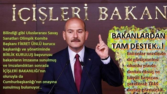 Türkiye'yi, Uluslararası Savaş Sanatlarında LİDER Yapacaklar..!